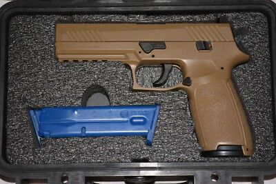 SIG P320 M17 Slide Assembly Coyote Tan FDE NS Milled for