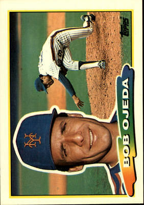 1988 Topps Big New York Mets Baseball Card #234 Bob Ojeda