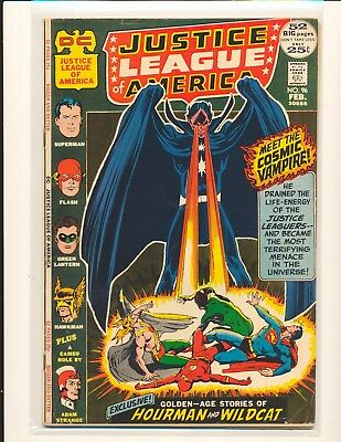 Justice League of America # 96 Adams cover VG Cond bottom centerfld stple detach