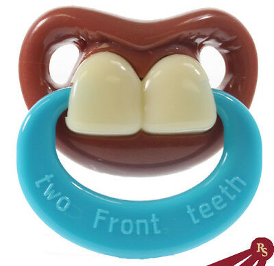 BILLY BOB PACIFIER - My Two Front Teeth - INFANT GAG