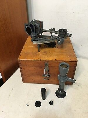 Rare Vintage Russian Sextant Naval Navigation Tool