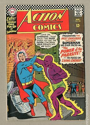 Action Comics (DC) #340 1966 VG 4.0