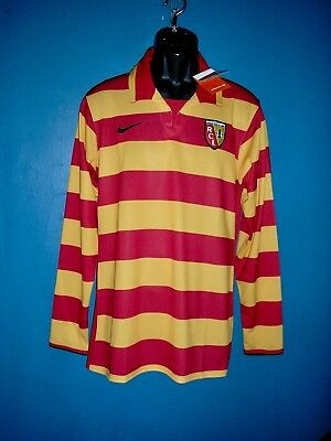 2007-2008 RC Lens Home Football Shirt [Size Large] NEW WITH TAGS