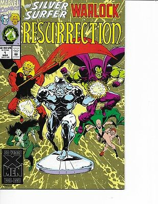 Silver Surfer/Warlock Resurrection #1-4 (4 books) 1993, Marvel Comics