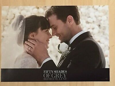 Fifty Shades Of Grey ❤️ Befreite Lust ❤️ Lobby Card ❤️ Jamie Dornan ❤️ 2