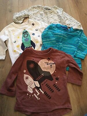 Next Boys 9-12 Months Long Sleeve Tops