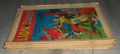 Lot Of 12 Lion & Champion Comics , 1967 , Robot Archie , Spider  Carson,s Cubs