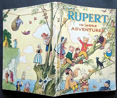 Rupert Annual 1944.....original....not Inscribed Or Price-Clipped.....greycaines