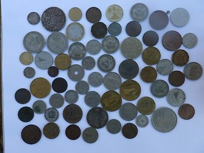 JOB LOT OF INTERESTING OLD COINS 99p WITHOUT RESERVE.