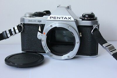 Pentax ME Super 35mm SLR Film Camera Body.Tested Working.Free Warranty