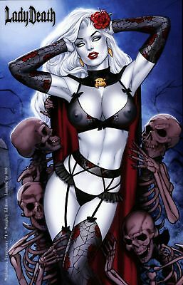 Lady Death Nightmare Symphony #1 ~ Naughty Edition ~ Coffin Comics