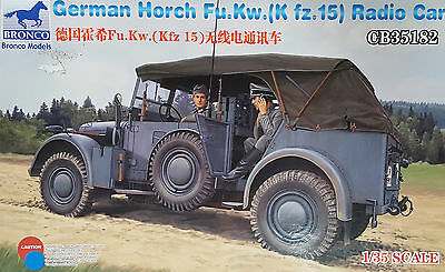 BRONCO CB35182 WWII German Horch Fu.Kw.(Kfz.15) Funkwagen in 1:35