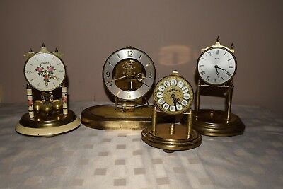 4 Anniversary clocks 400.day clocks Dome clocks for Spares or Repair