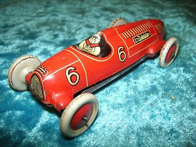 Pennytoy Georg Fischer Auto Union Rennwagen Germany Vorkrieg Tin Car Tole Latta