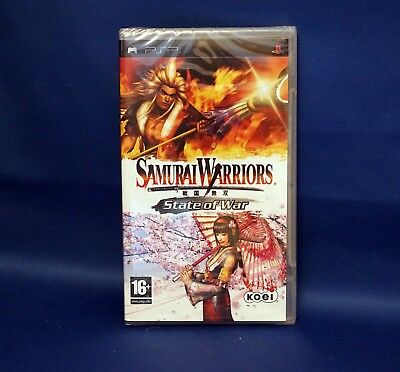 Samurai Warriors State of War - PSP PlayStation Portable - New & Sealed
