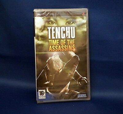 Tenchu Time of the Assassins - PSP PlayStation Portable - New & Sealed