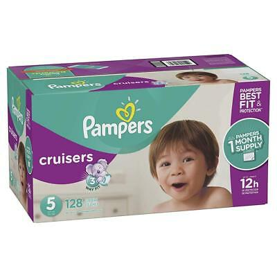Pampers Cruisers Disposable Diapers, Size 3 - 7, ONE MONTH SUPPLY