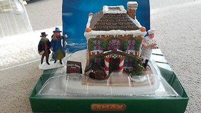 lemax christmas village - gingerbread house