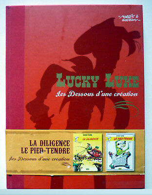 LUCKY LUKE - LA DILIGENCE & LE PIED-TENDRE - Hardback French Edition + Posters