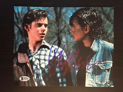 RALPH MACCHIO SIGNED AUTOGRAPHED 8x10 PHOTO - THE OUTSIDERS, KARATE KID- BECKETT