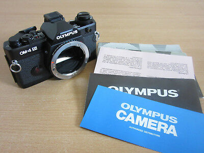 Olympus OM-4 Ti Camera Body with manuals UNUSED