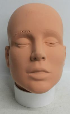 NEW MEHRON Professional Make-Up & Face Painting Student Practice Mannequin Head