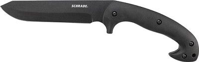 Schrade Frontier Full Tang Jessica X Fixed Blade Knife  + Sheath