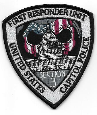 U.S. Capitol Police First Responders patch