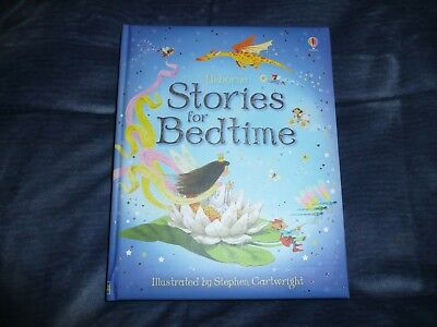 NEW 2007 Usborne STORIES for BEDTIME Story Book BRAND NEW classics folk tales