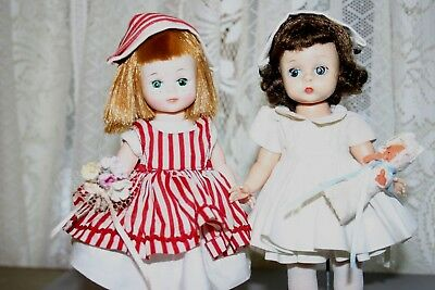 Vintage Madame Alexander Kins Maggie Mix-Up  Dolls Tagged Nurse & Candystriper