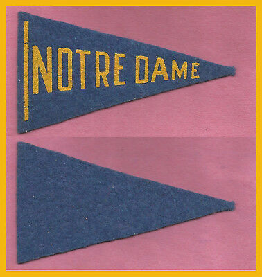VINTAGE University of Notre Dame Football Pennant! 1936 BF-3 WOW!