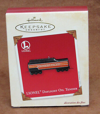 Hallmark Keepsake Ornament Lionel Daylight Oil Tender 2003 ** New In Box