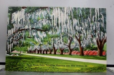 Louisiana LA Versailles Plantation New Orleans Postcard Old Vintage Card View PC