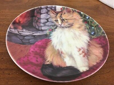 """Mouse Cat"" Cats Collection Formalities By Baum Bros 8"" Plate"