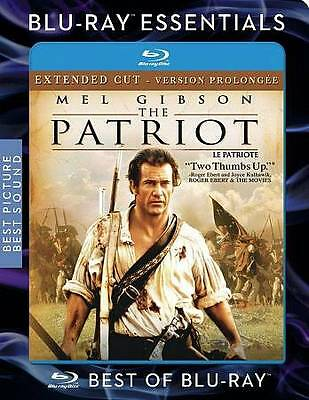 The Patriot (Blu-ray Disc, 2007, Canadian Extended Cut French) SEALED