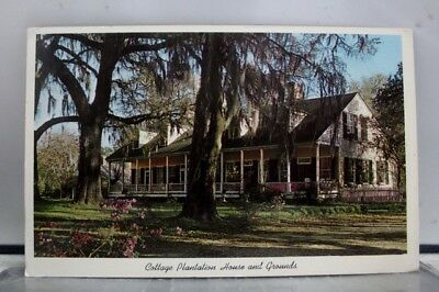Louisiana LA Cottage Plantation House Postcard Old Vintage Card View Standard PC