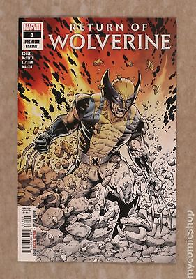 Return of Wolverine (Marvel) 1P 2018 McNiven Fade Variant NM- 9.2
