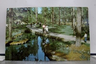 Louisiana LA Hodges Gardens Many Postcard Old Vintage Card View Standard Post PC