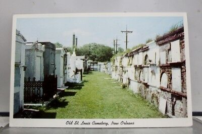 Louisiana LA St Louis Cemetery New Orleans Postcard Old Vintage Card View Post