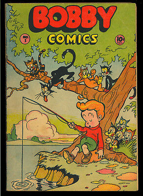 Bobby Comics #1 Obscure One-Shot First Issue Golden Age Comic 1946 GD-VG