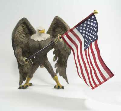 Freedom American Eagle Action Figure with USA Flag