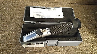 ATC Portable Hand Held Refractometer w/ Case