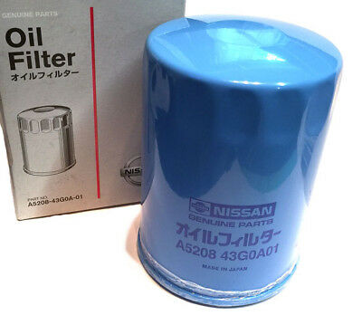 Genuine Datsun OEM Oil Filter, 240Z 280Z 280ZX, 1970-83, Made-in-Japan, NEW!