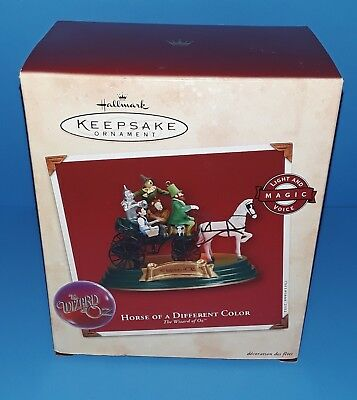 Hallmark Ornament- Horse Of A Different Color- The Wizard Of Oz- 2002- NIB!