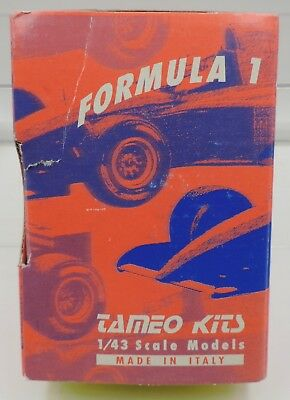 Tameo TMK 289 1:43 Indy Car Kit - McLaren MP 4/3 1987 made in Italy  RP-GB