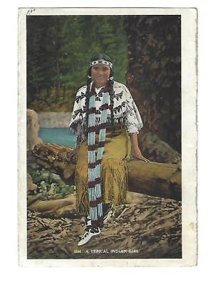 Native American Color Photos, double-sided on 2 sheets of paper