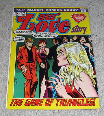 Our Love Story 20 VF+ Marvel Romance   Lot  RARE in HG