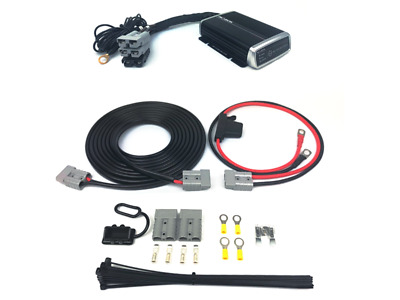 LIGHTNING Quick Connect Dual Battery Wiring Kit + 25A DCDC Charger (LP-DBWK8MMDC