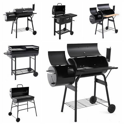 BBQ Barbecue Outdoor Garden Charcoal Barbeque Patio Party Cooking Large Portable