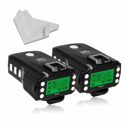 Pixel King Pro Flash Two Transceivers kit TTL HSS LCD Screen with PC Port for So